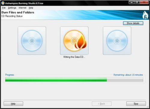 โปรแกรมเขียนแผ่น CD DVD ฟรีๆ ไปเลย
