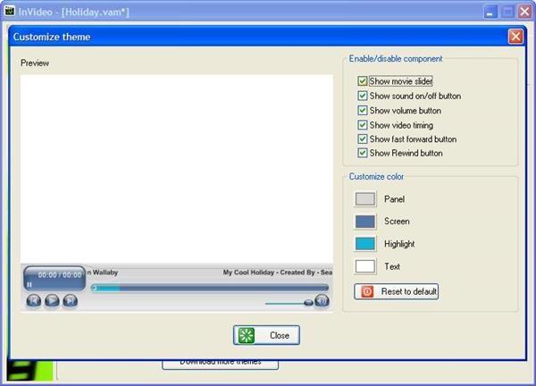 โปรแกรมจัดการไฟล์วิดีโอ InVideo studio