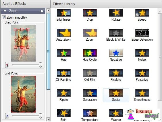 ทำวิดีโอสไลด์ภาพ PhotoStage Slideshow