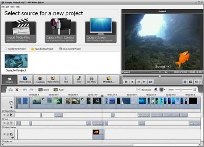 โปรแกรมปรับแต่ง AVS Video Editor