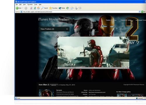 QuickTime Player โปรแกรมดูหนังออนไลน์