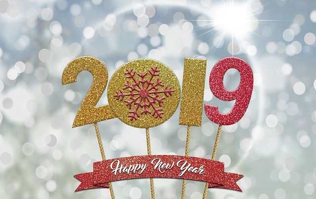 wallpaper ปฏิทิน ปีใหม่ 2019